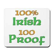 100% Irish 100 Proof Mousepad
