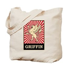 Pop Art Griffin Tote Bag