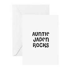 AUNTIE JADEN ROCKS Greeting Cards (Pk of 10)
