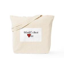 World's Best Vet Gifts Tote Bag