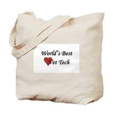 World's Best Vet Tech Tote Bag