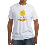 Chick Magnet Fitted T-Shirt