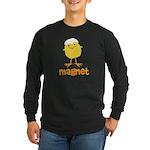 Chick Magnet Long Sleeve Dark T-Shirt