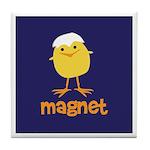 Chick Magnet Tile Coaster