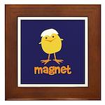 Chick Magnet Framed Tile