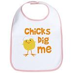 Chicks Dig Me Bib
