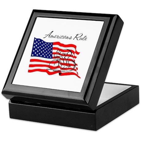 Americans Rule 03 Keepsake Box