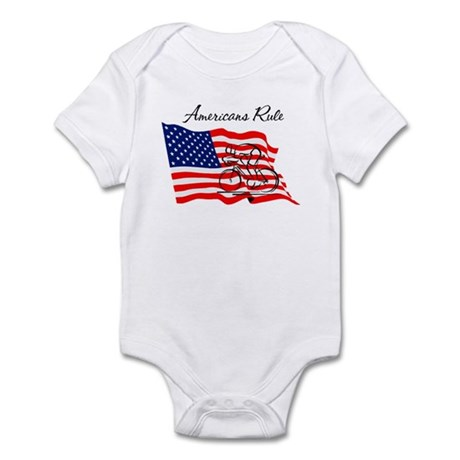 Americans Rule 03 Infant Bodysuit