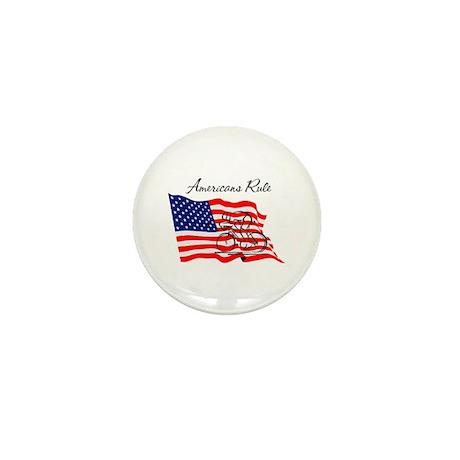 Americans Rule 03 Mini Button (10 pack)