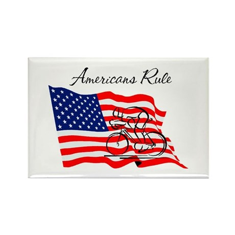 Americans Rule 03 Rectangle Magnet (10 pack)