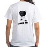 Grill It White T-Shirt