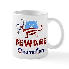 Beware ObamaCare Small Mug