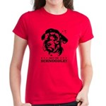 Obey the Schnoodle! w/ txt Women's Dark T-Shirt