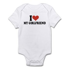 I love my girlfriend Infant Bodysuit