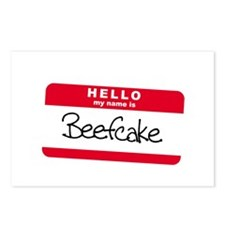 My Name is BEEFCAKE Postcards (Package of 8)