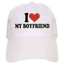 I love my boyfriend Baseball Cap