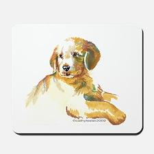 Golden Retriever puppy- darling Mousepad