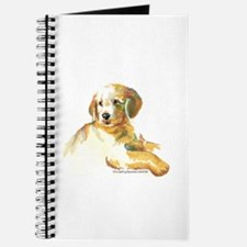 Golden Retriever puppy- darling Journal