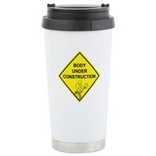 Body Under Construction Travel Mug