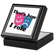 That's How I Role Keepsake Box