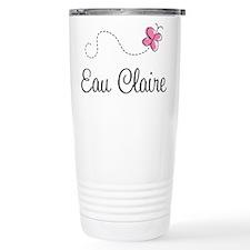 Pretty Eau Claire Travel Mug