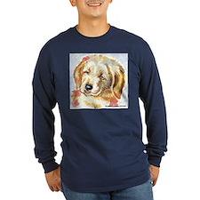 Golden Retriever puppy - head T