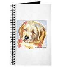 Golden Retriever puppy - head Journal