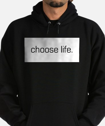 Cute Choose love choose life Hoodie (dark)