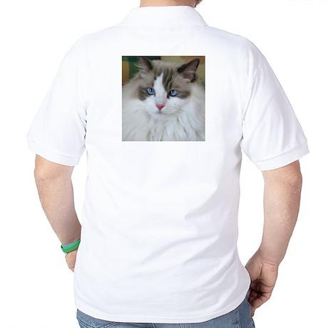 Ragdoll Cat Golf Shirt