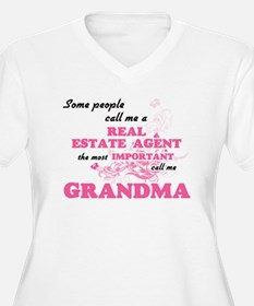 Some call me a Real Estate Agent Plus Size T-Shirt