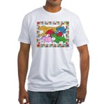 Herd 'o Dogs Fitted T-Shirt