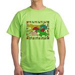 Herd 'o Dogs Green T-Shirt