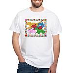 Herd 'o Dogs White T-Shirt