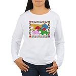 Herd 'o Dogs Women's Long Sleeve T-Shirt