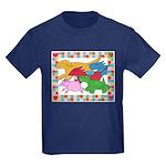 Herd 'o Dogs Kids Dark T-Shirt