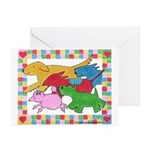 Herd 'o Dogs Greeting Cards (Pk of 10)