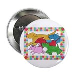 """Herd 'o Dogs 2.25"""" Button (10 pack)"""