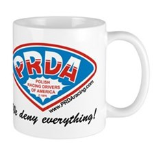 PRDA Polish Racing Drivers of America Mug