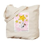 Terrier swingin' on a star Tote Bag