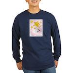 Terrier swingin' on a star Long Sleeve Dark T-Shir