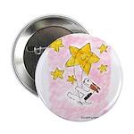 "Terrier swingin' on a star 2.25"" Button"