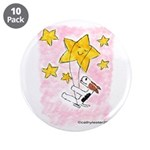 """Terrier swingin' on a star 3.5"""" Button (10 pa"""