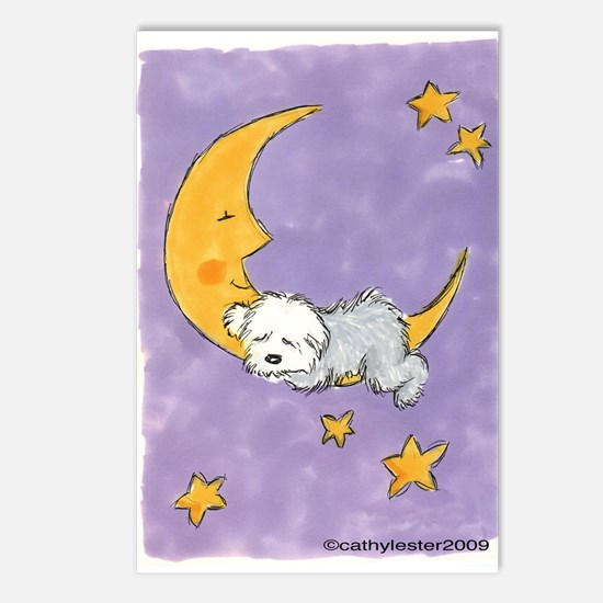 Baby puppy naps Postcards (Package of 8)