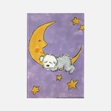 Baby puppy naps Rectangle Magnet (10 pack)
