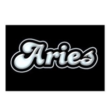Retro Zodiac Aries Postcards (Package of 8)