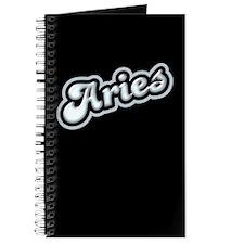 Retro Zodiac Aries Journal