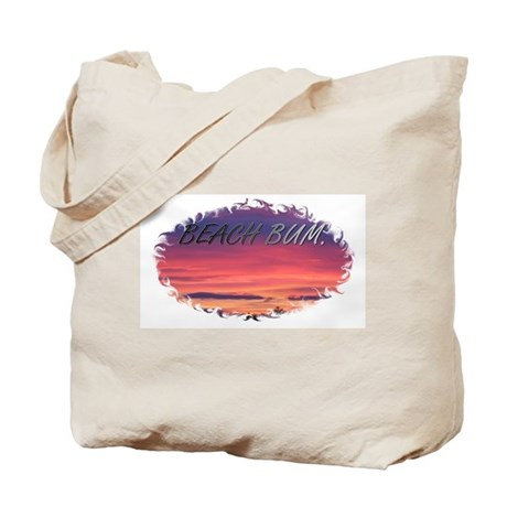 Beach Bum Sunrise Tote Bag