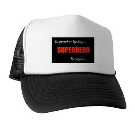 Superhero Dispatcher Trucker Hat