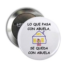 "Con Abuela 2.25"" Button"