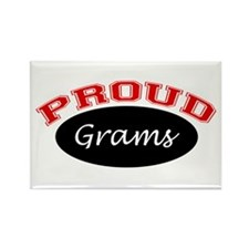 Proud Grams Rectangle Magnet